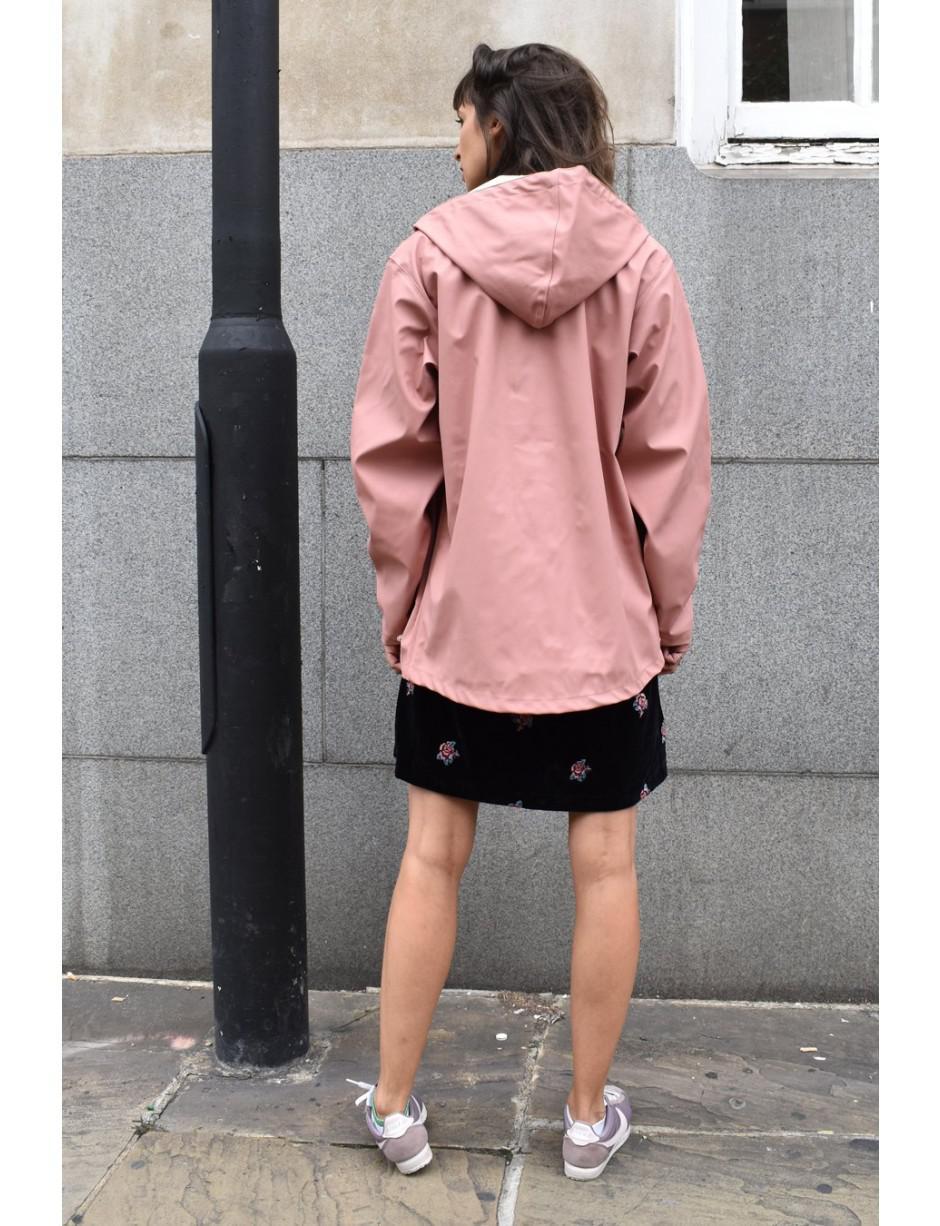 TRETORN Unisex Wings Short Rain Jacket Dusty Pink