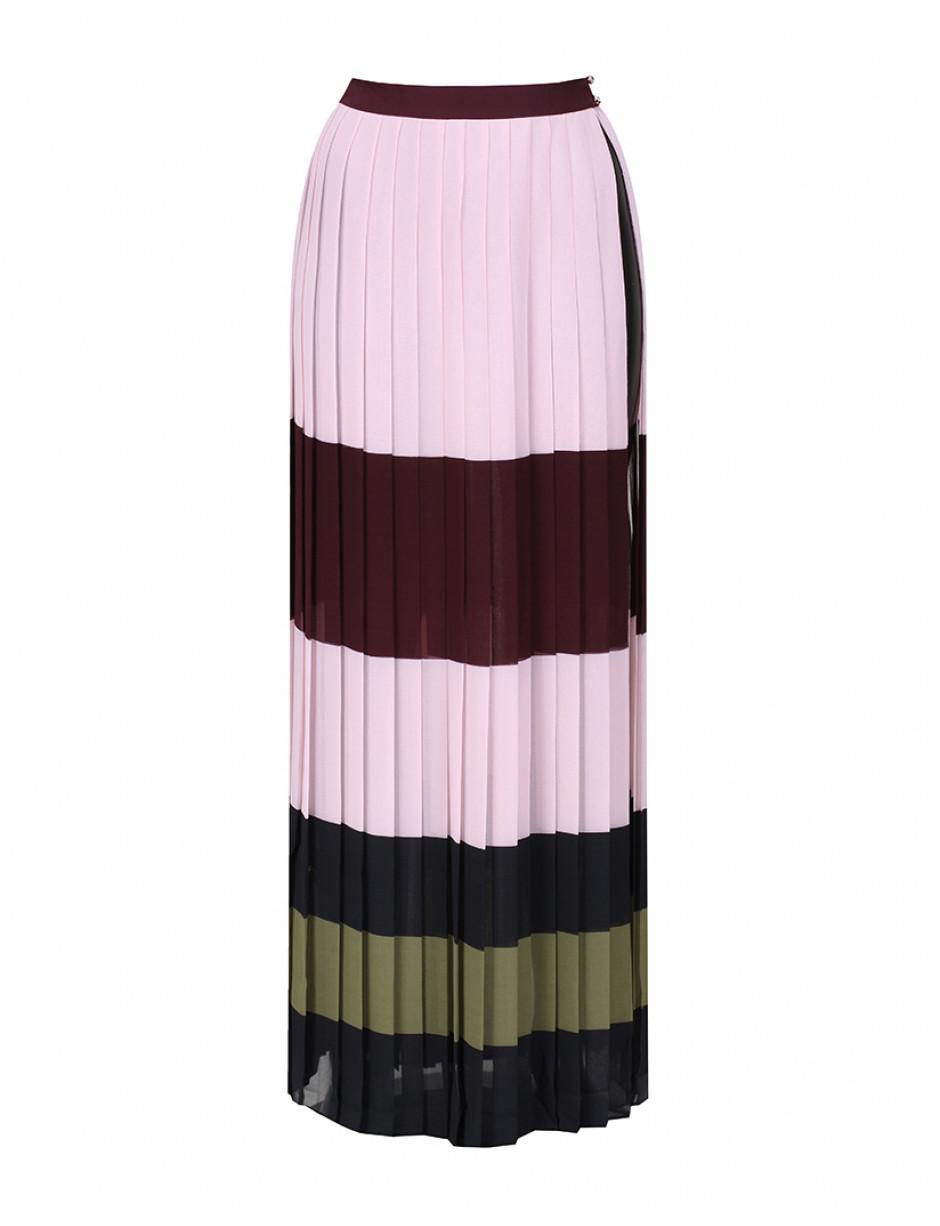 ed53f2422c6675 Lyst - Ted Baker Maxi Skirt In Imperial Stripe in Pink