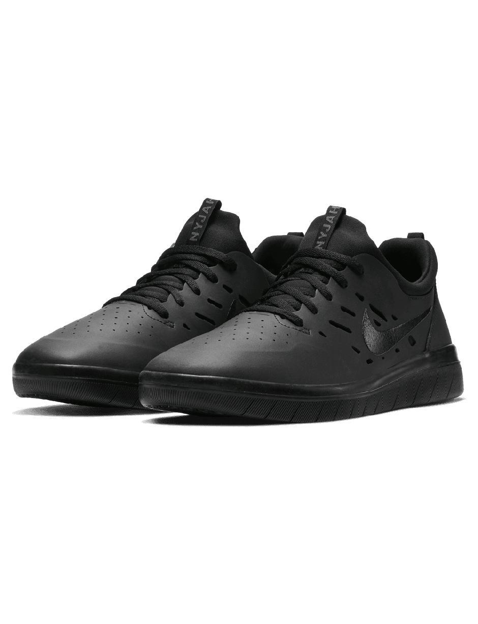 sale retailer 00e1a 9d0ed Nike - Black Sb Nyjah Free Trainers for Men - Lyst. View fullscreen