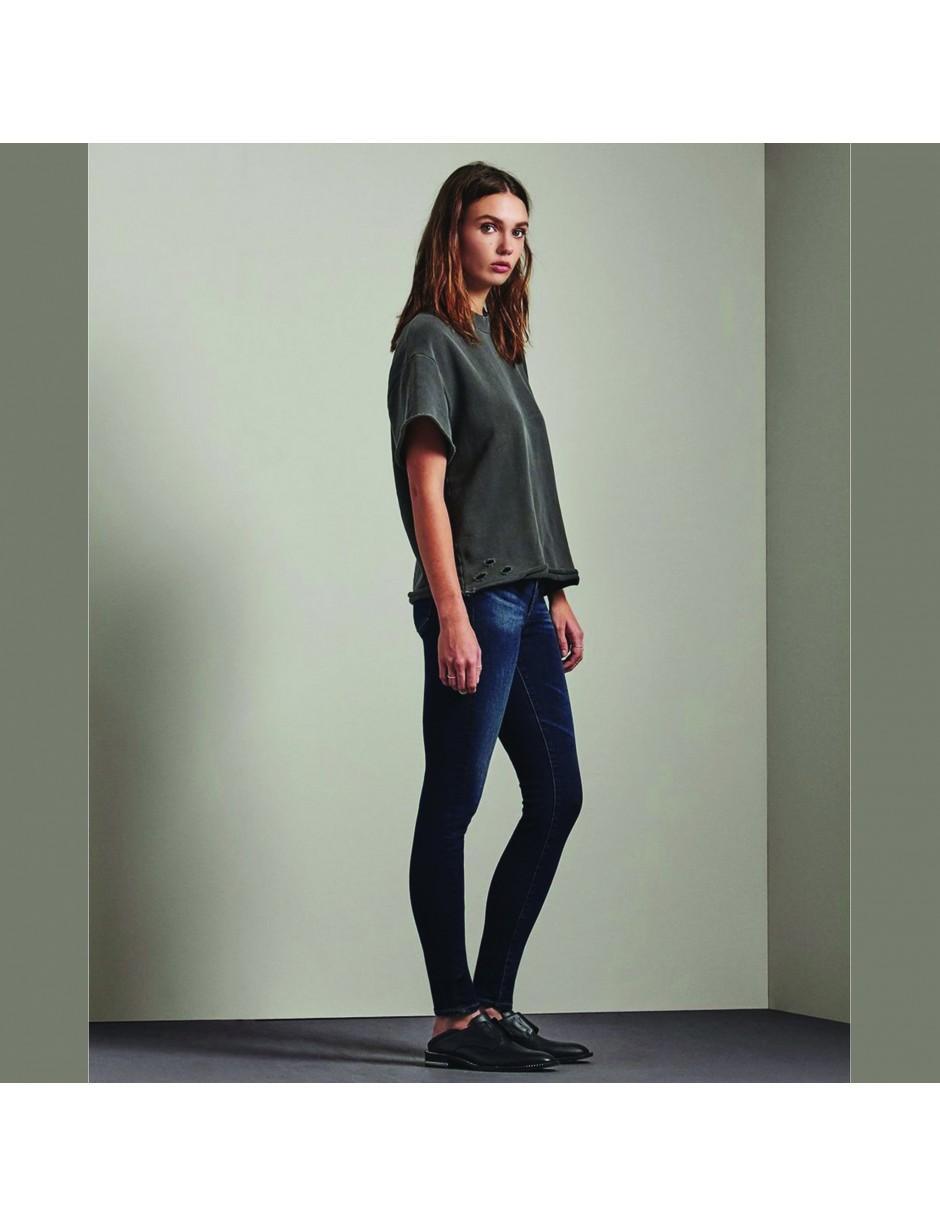 AG Jeans Legging Mid Blue Denim