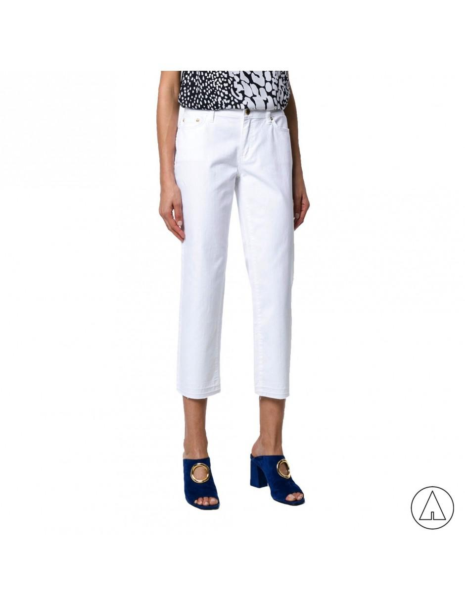 MICHAEL Michael Kors Denim Michael Kors Cropped Jeans In White