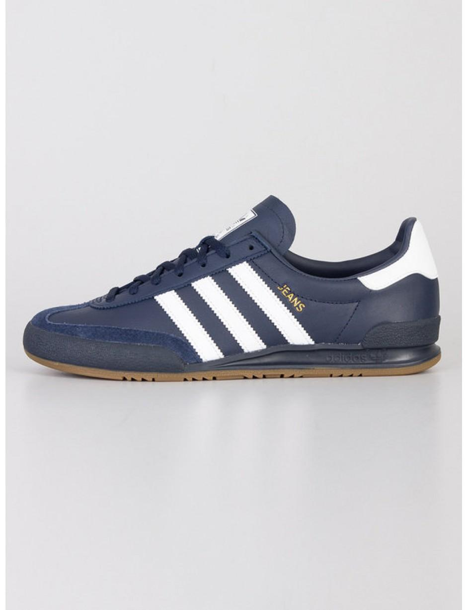 adidas jeans trainers blue