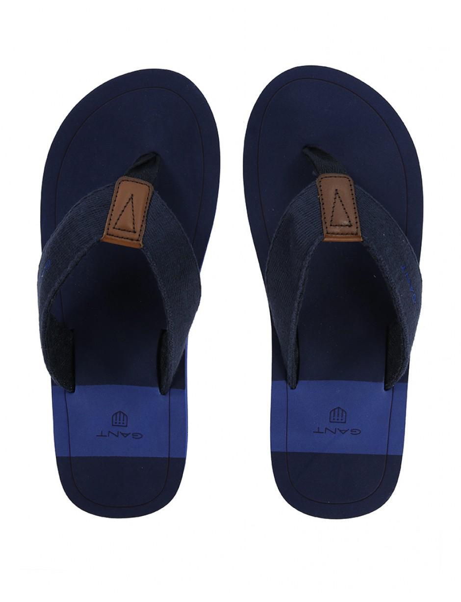 556bdb65a GANT   s Breeze Flip Flops in Blue for Men - Lyst