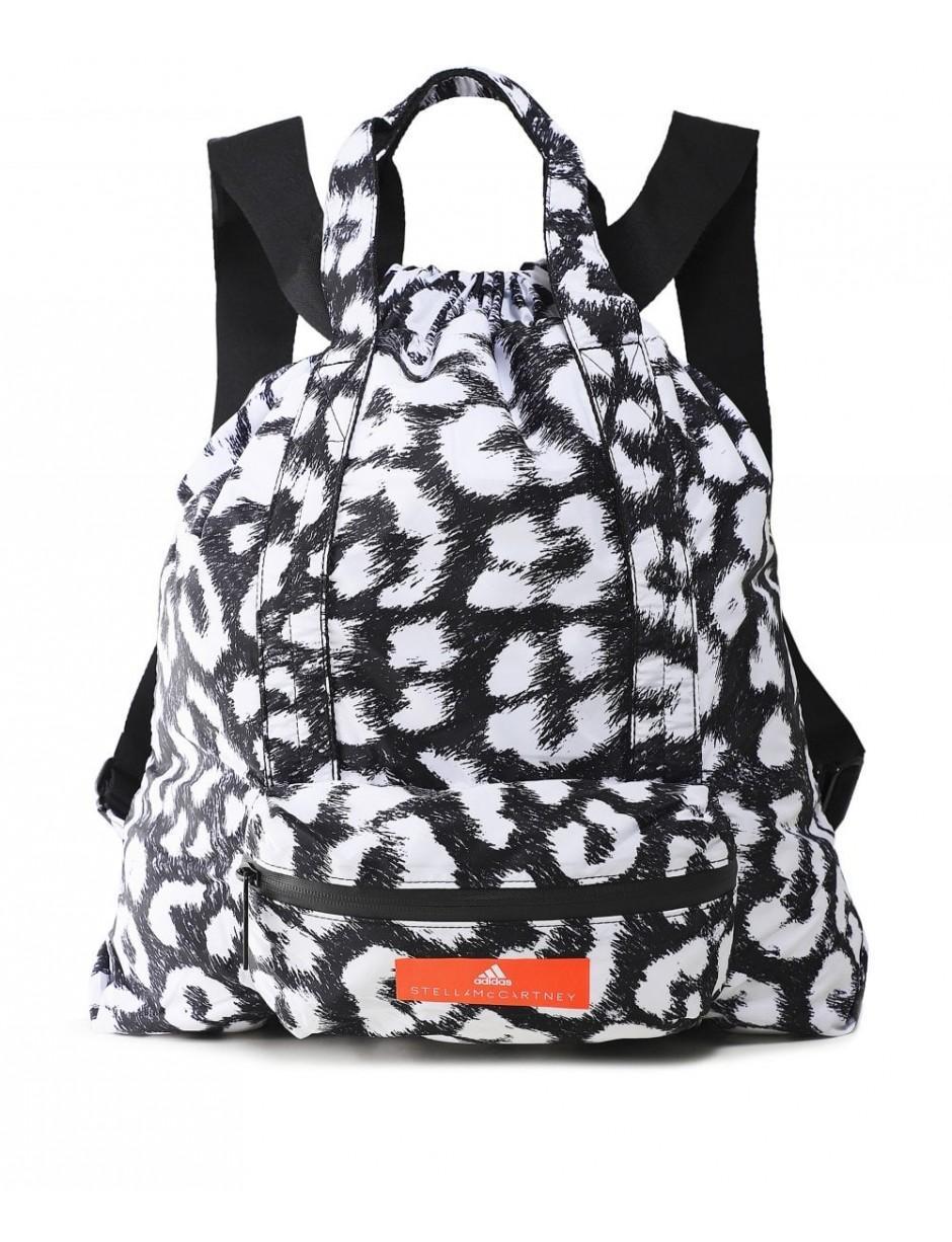 78c88a88e8db ... Adidas By Stella Mccartney Leopard Print Gym Sack - Lyst. View  fullscreen
