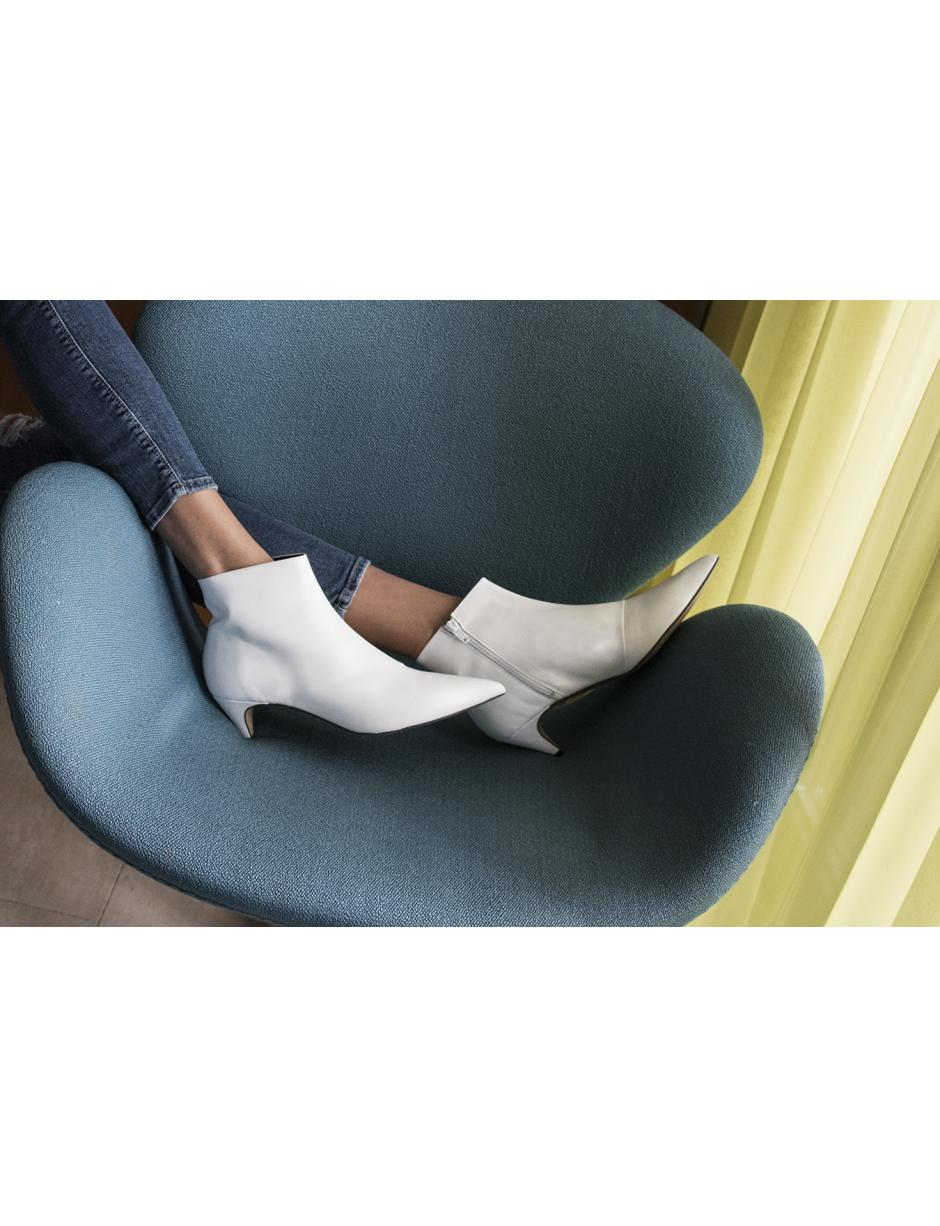 0d485d02228 Lyst - Henry Kole Alessa Leather White in White