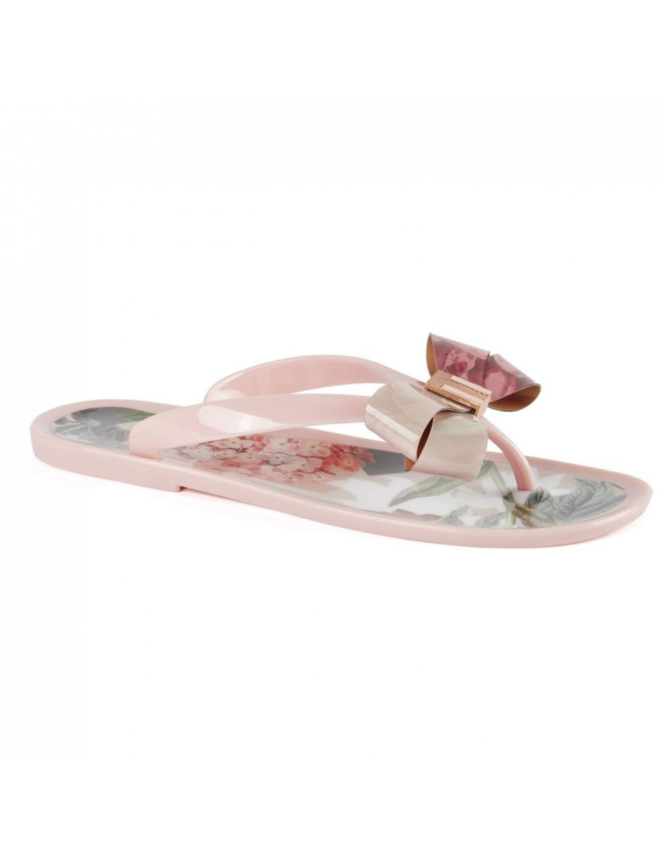 335affcd7154c8 Ted Baker Suszie Palace Gardens Flip Flops in Pink - Lyst