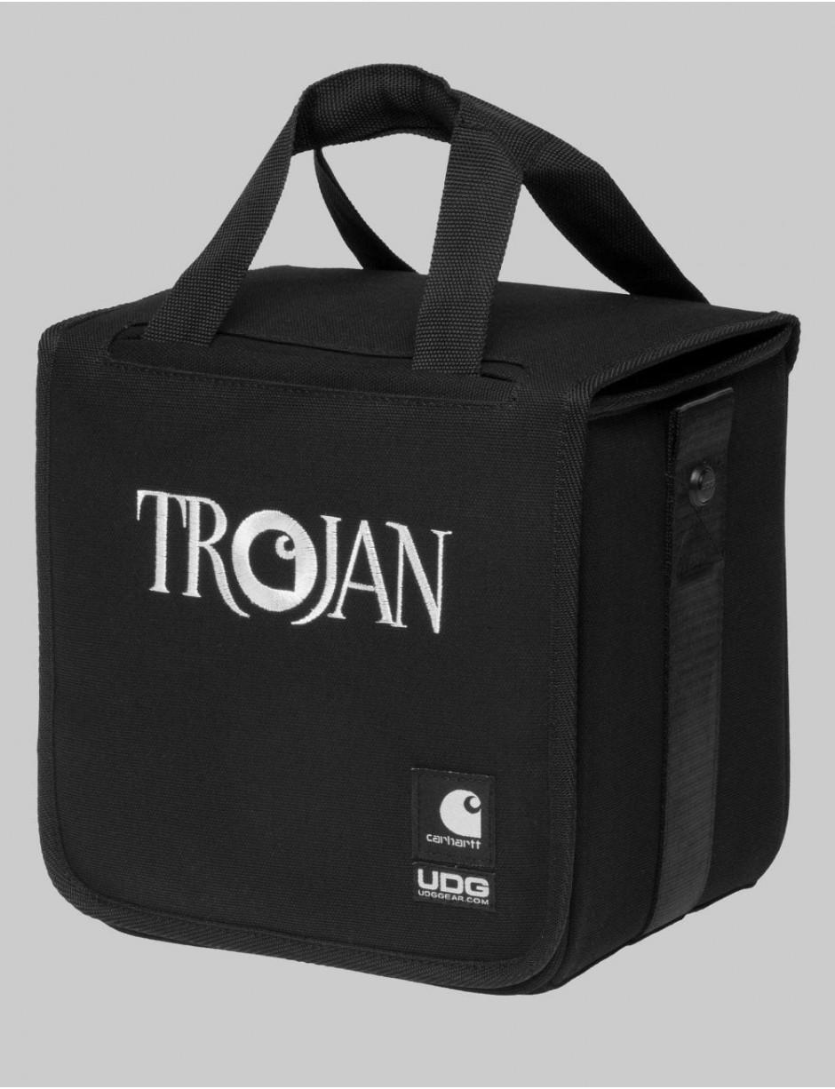 "Black Carhartt x Trojan Records 7/"" Record Bag"