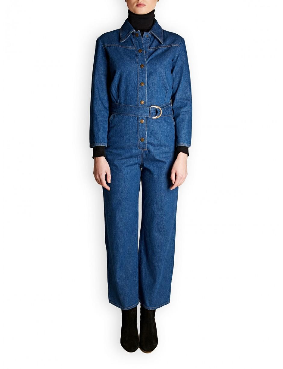 5363f8403ed Lyst - M.i.h Jeans M.i.h Jeans Harper Denim All-in-one in Blue