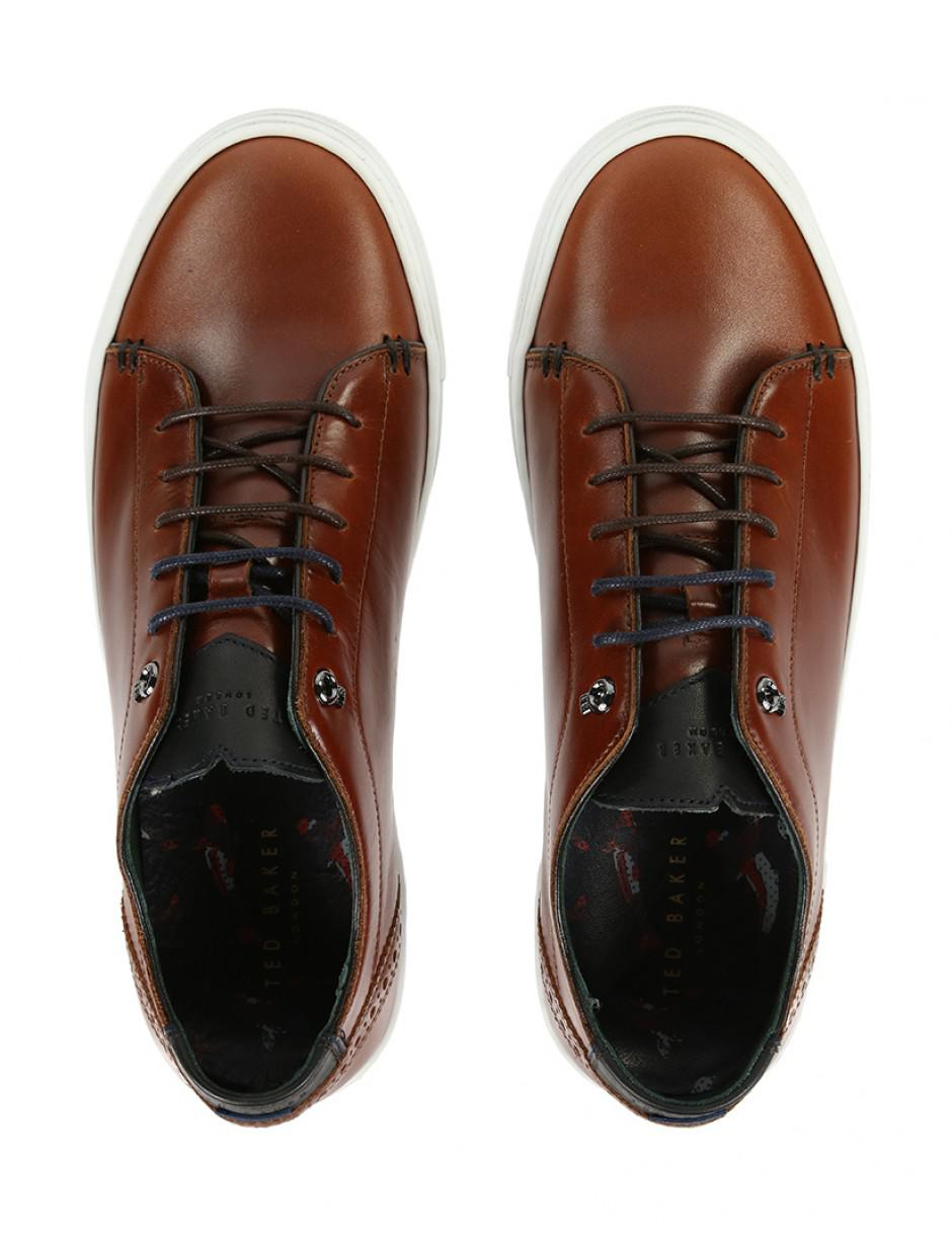 Ted Baker Men's Duuke Trainers in Brown for Men