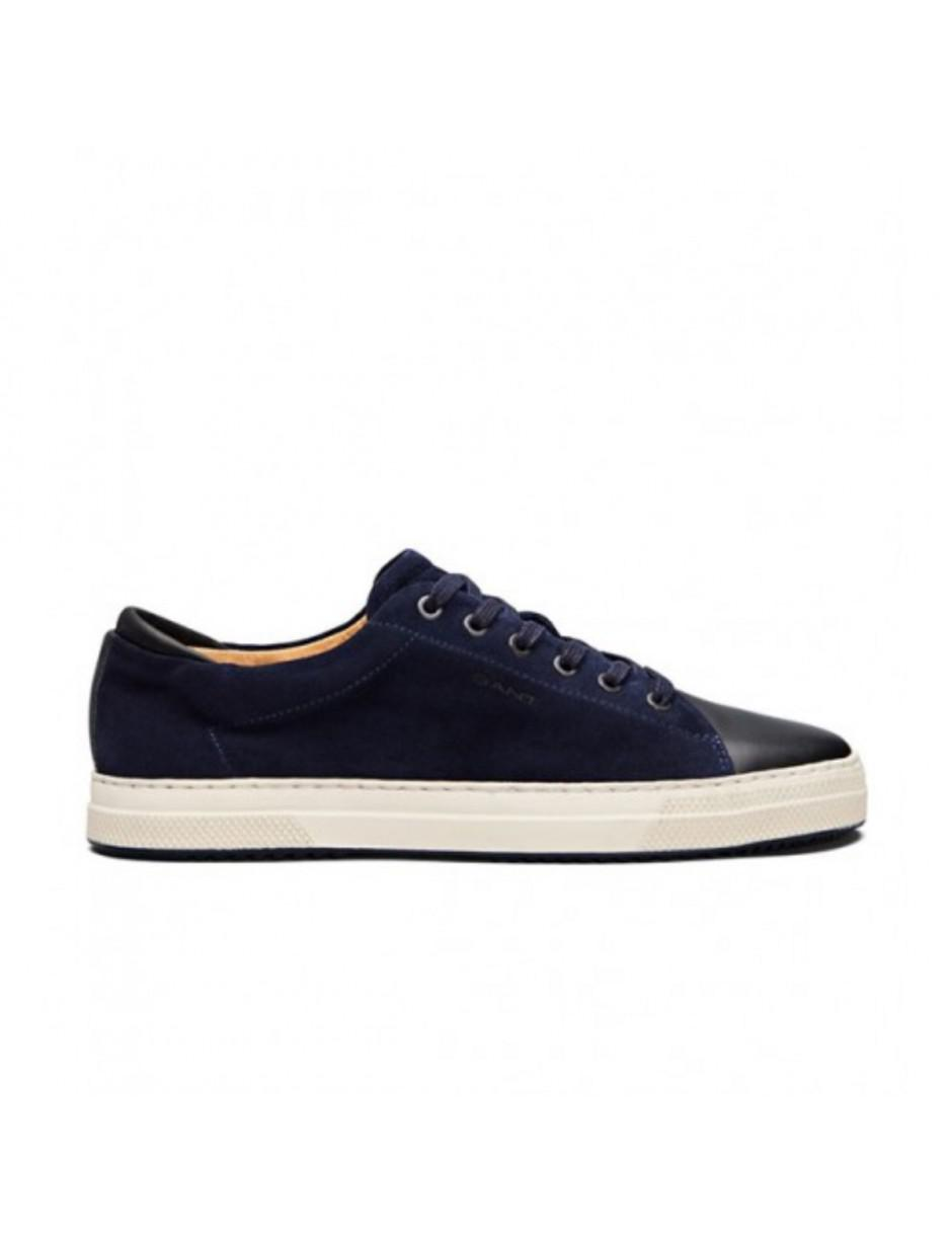 GANT Star Navy Leather And Suede