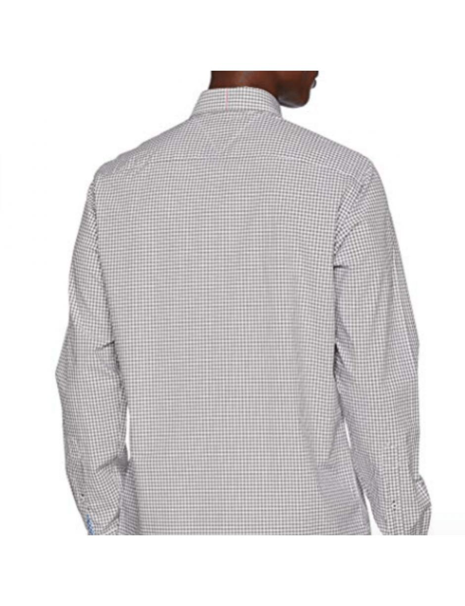 3a69d2b8 Tommy Hilfiger Classic Gingham Shirt in Brown for Men - Lyst