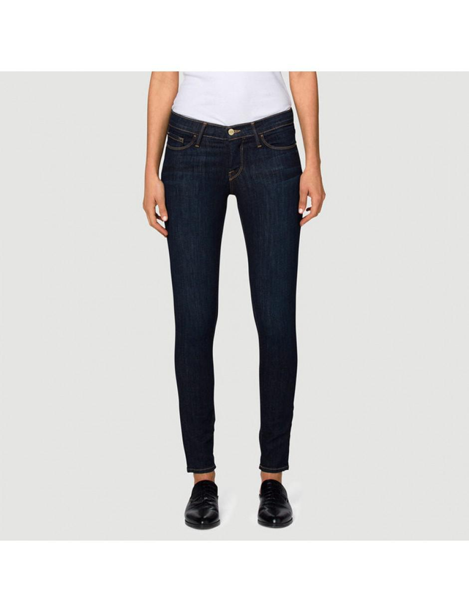 FRAME Denim Frame Jeans Le Skinny De Jeanne Jeans in Blue