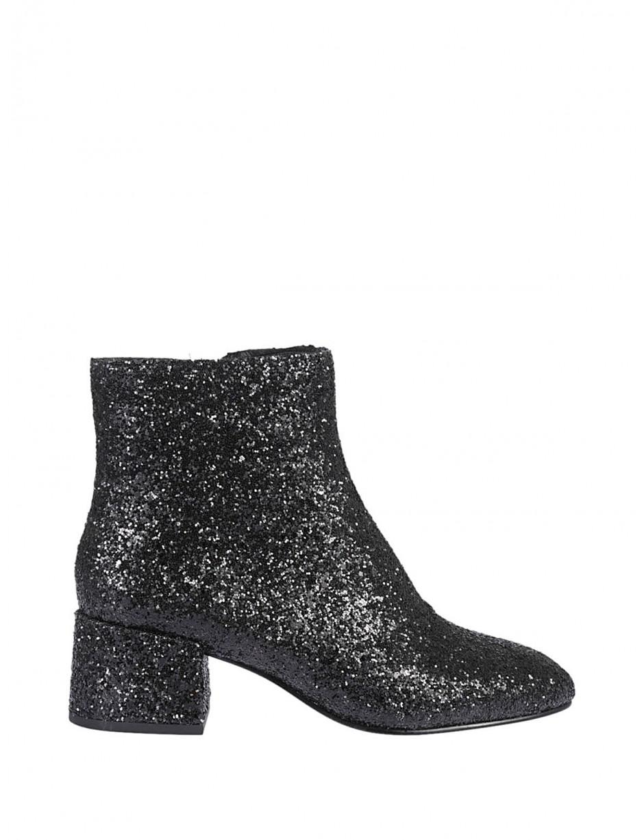 Ash Boots Black Dragon Glitter