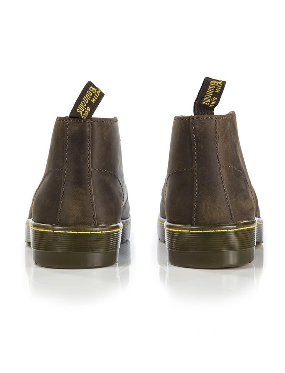 dcd36784163 Dr. Martens Brown Men's Cabrillo Crazy Horse 2 Eye Desert Boots for men