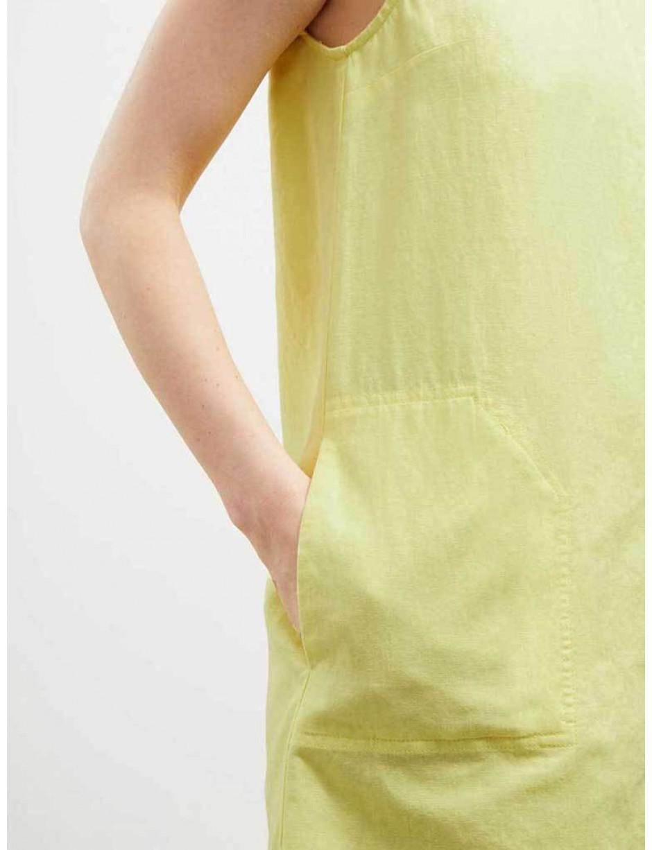 69af312a9f0 Lyst - Great Plains Linen Shift Dress In Lemon in Yellow