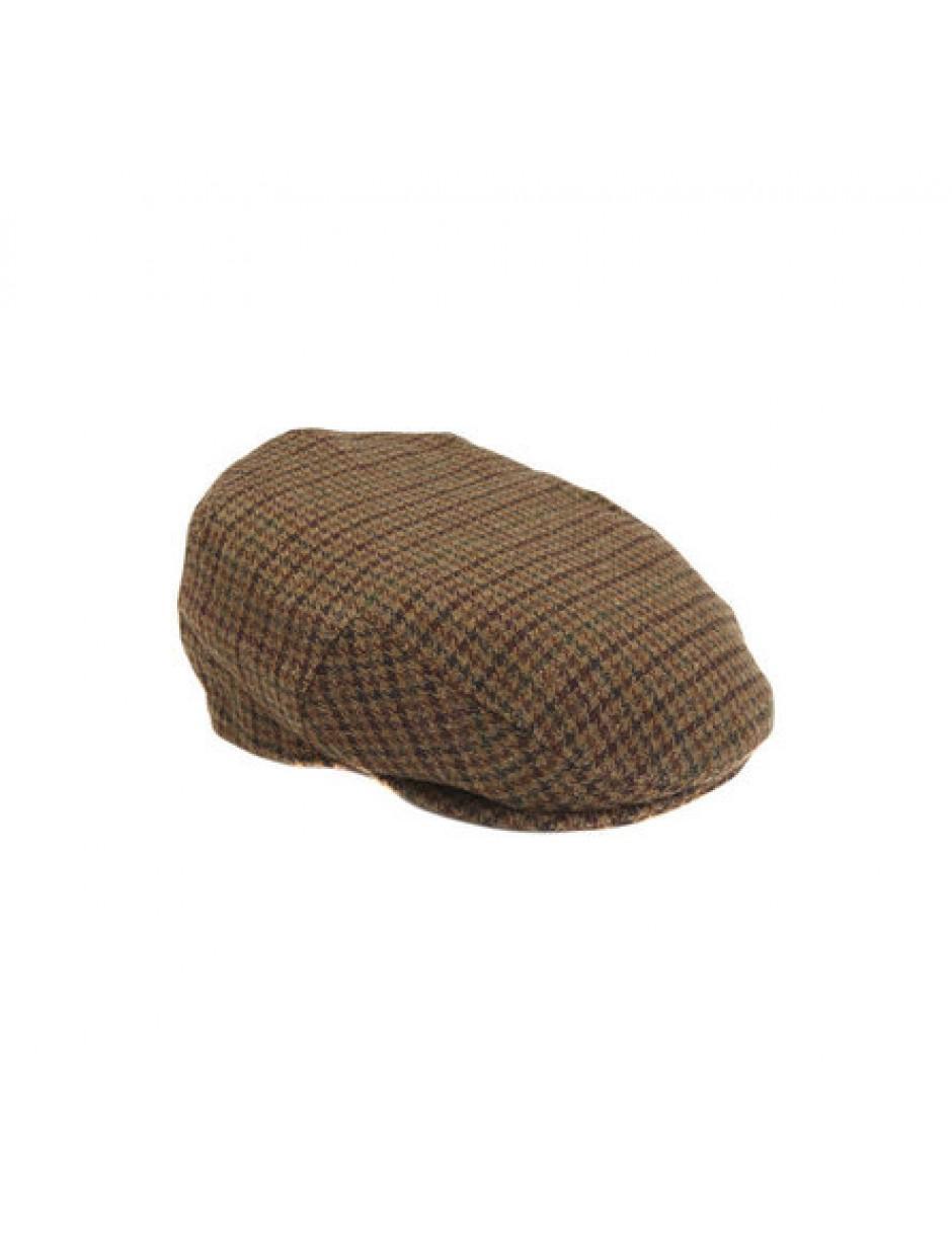 a3a37ed707b Lyst - Barbour Mens Dark Brown Club Check Crieff Cap in Brown for Men