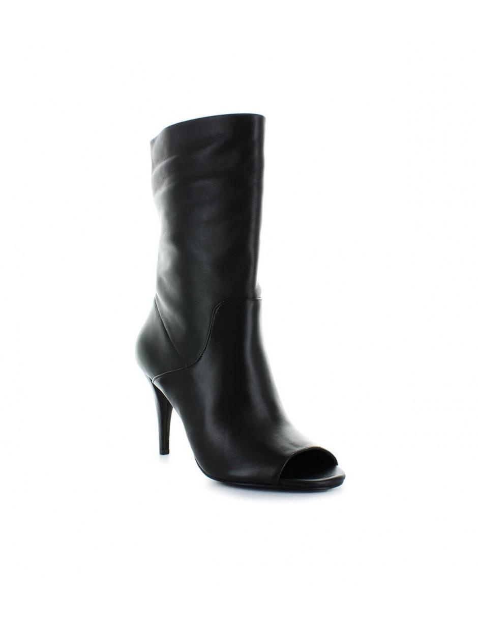 3037f95b MICHAEL Michael Kors. Women's Michael Kors Black Elaine Open Toe Boot 37