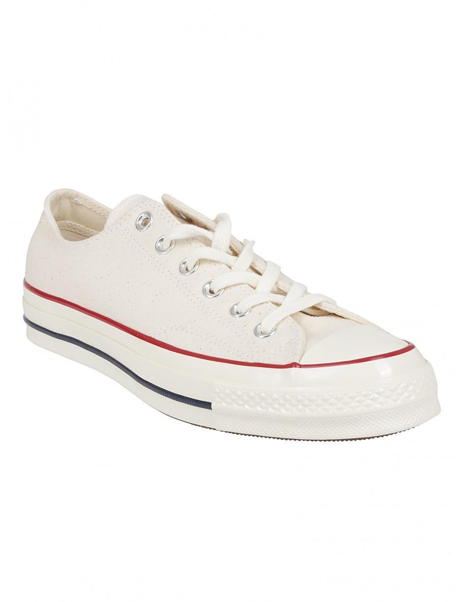 Lyst - Converse Trainers In Cream in White for Men e16d93ea4