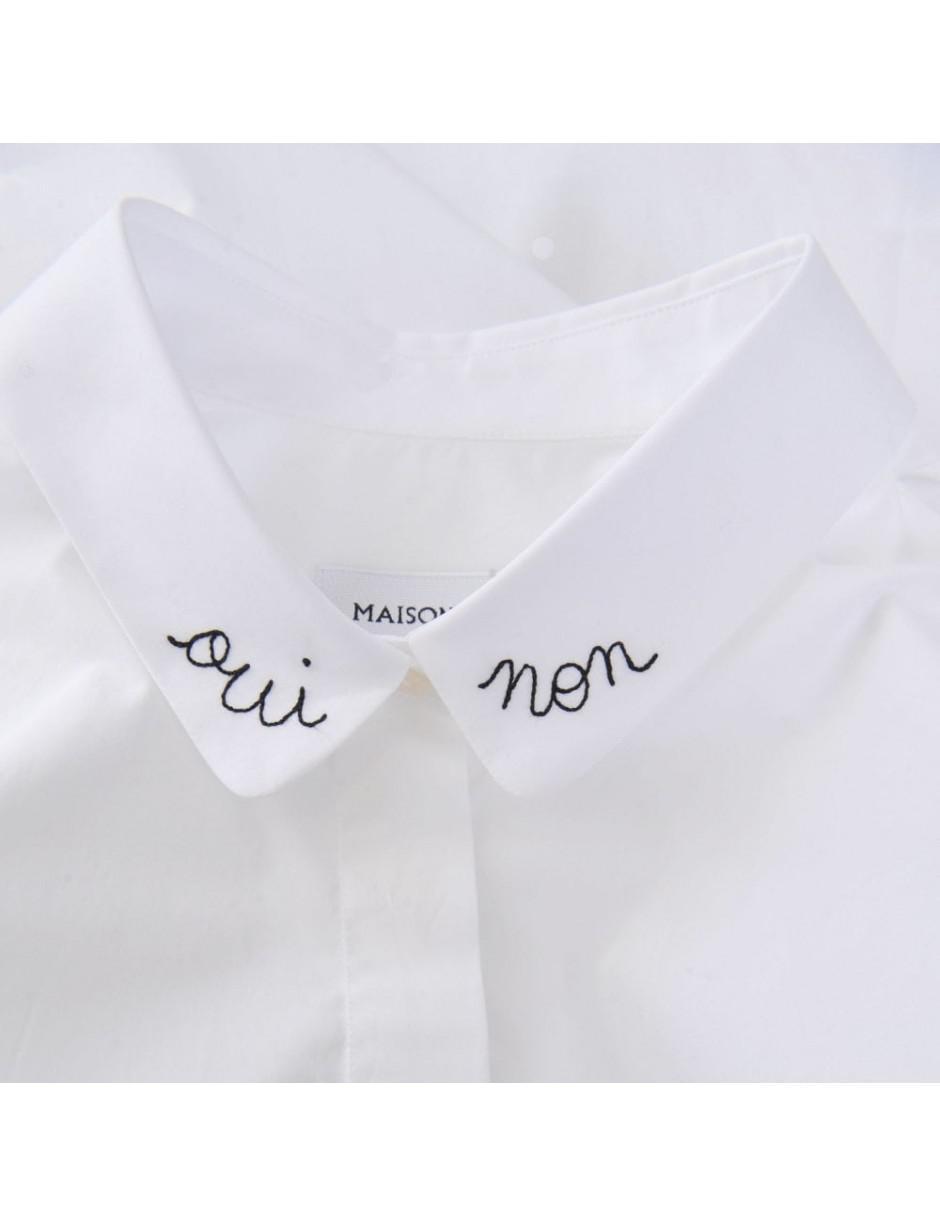 6c95461b3cd Maison Labiche Claudine White Shirt Qui  non in White - Lyst