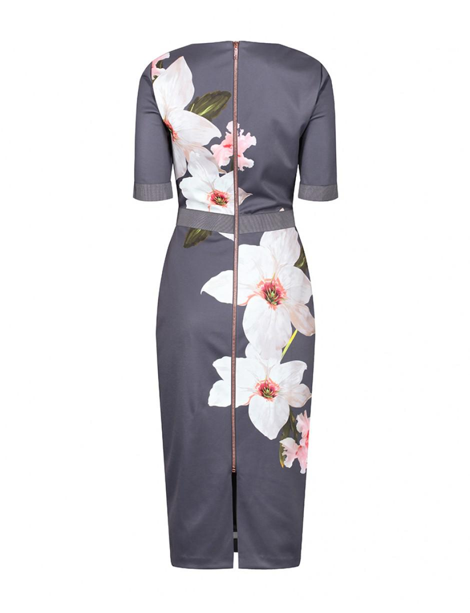 New Ted Baker BISSLEE Chatsworth Bloom Bodycon Dress