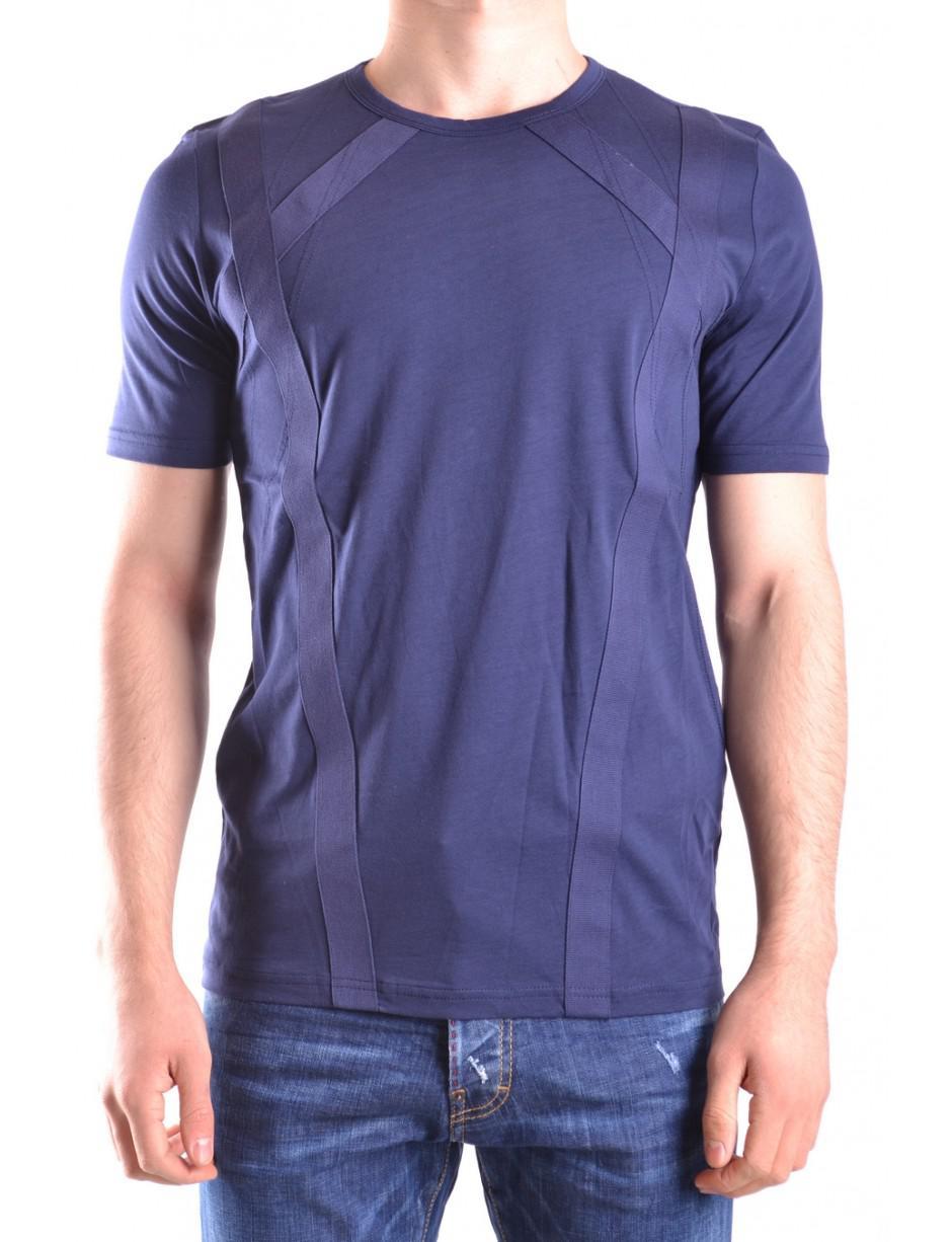 011b84bee709 Lyst - Diesel Black Gold Men s 00sympbgtiq8at Blue Cotton T-shirt in Blue  for Men - Save 23.728813559322035%