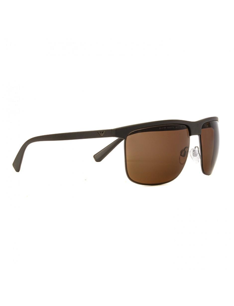 d181bf920db0 Lyst - Emporio Armani Ea4108 564073 60 Sunglasses Matte Mud in Brown ...