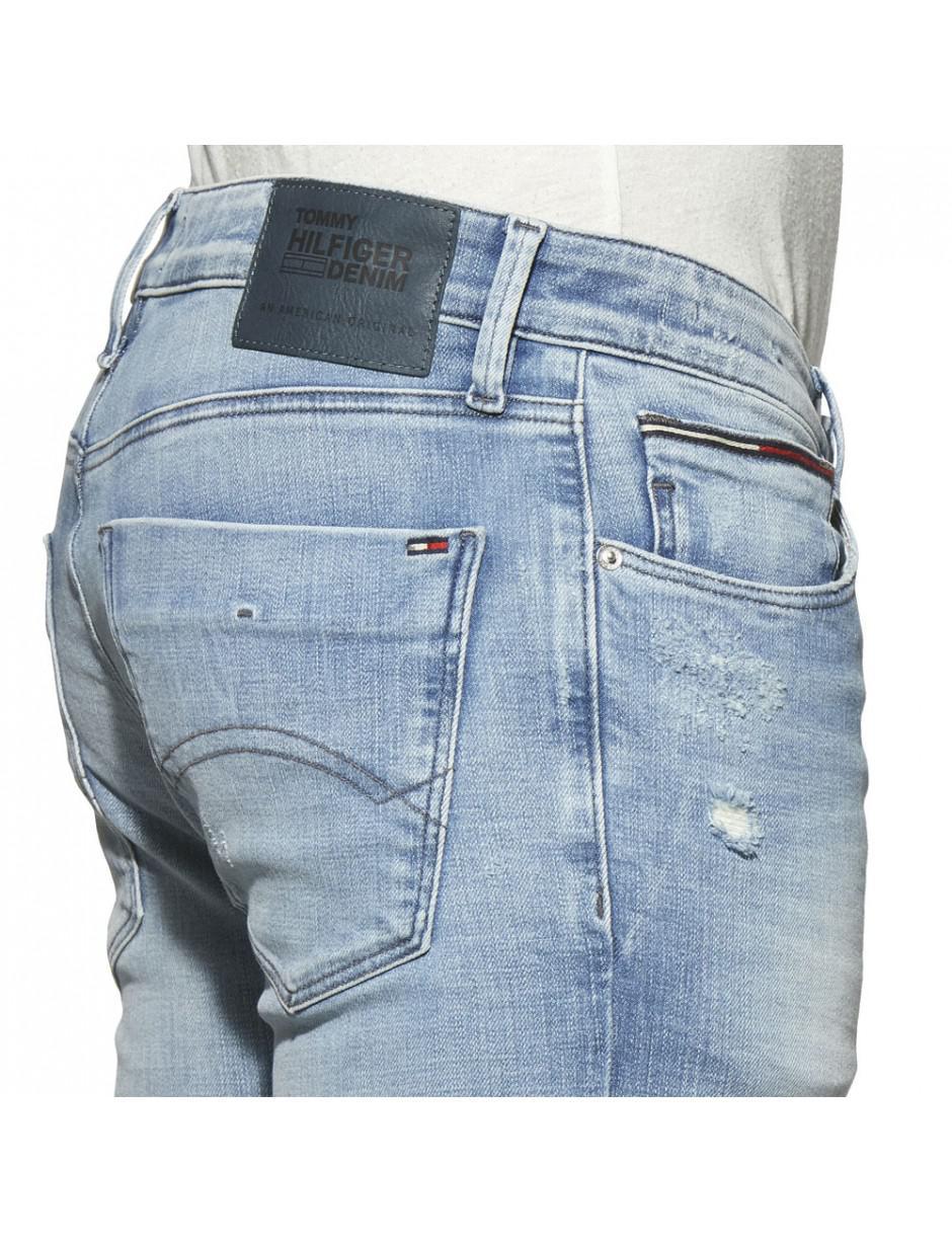 beste website 8bdb3 083e1 Tommy Hilfiger Tommy Jeans Slim Scanton Dynamic Alison Light Blue Stretch  Jeans for men