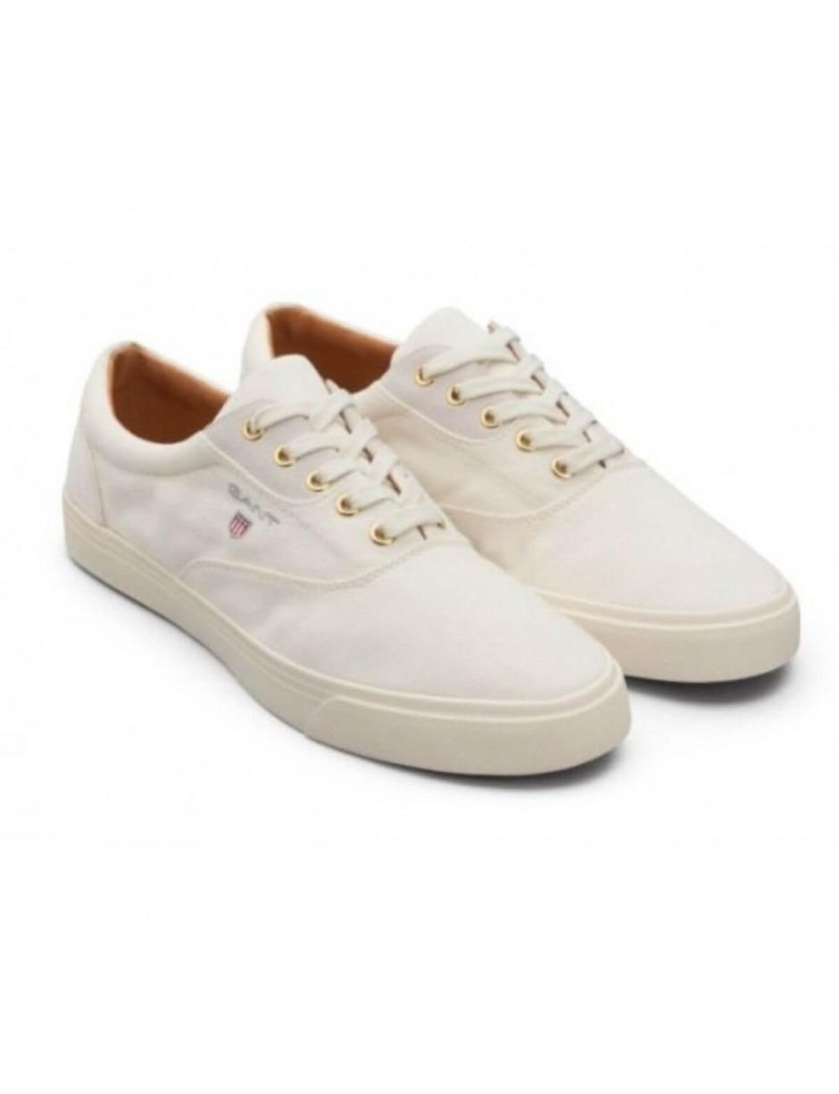 GANT Cotton Hero Trainers in White for