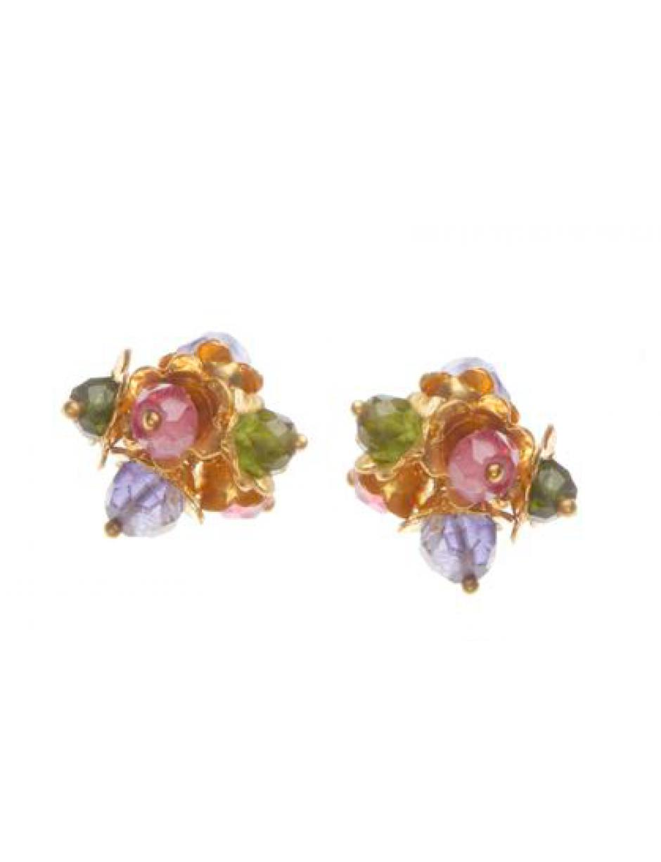 Amanda Coleman Forget Me Not Cluster Studs