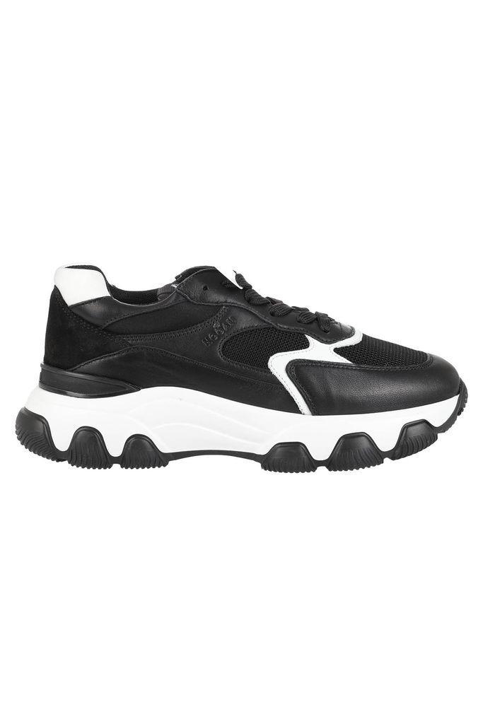 Hogan Sneakers Para Alta Bianca Nera in Black - Lyst