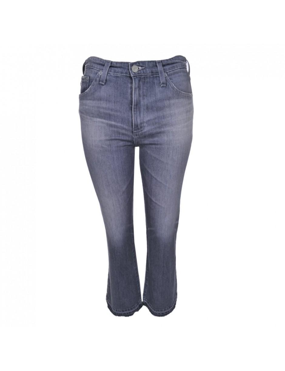 AG Jeans Denim The Jodi Crop 15 Years in Grey (Grey)