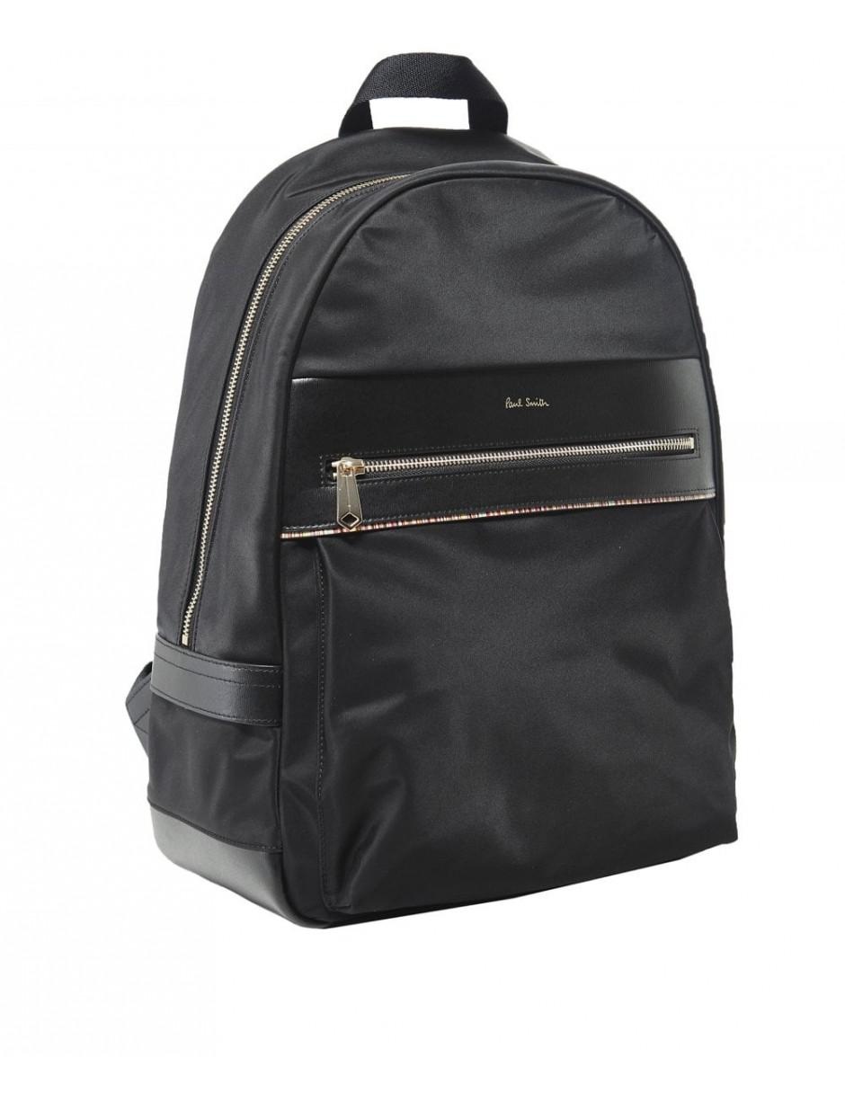 Paul Smith - Black Signature Stripe Trim Backpack for Men - Lyst. View  fullscreen cecdf8ca6