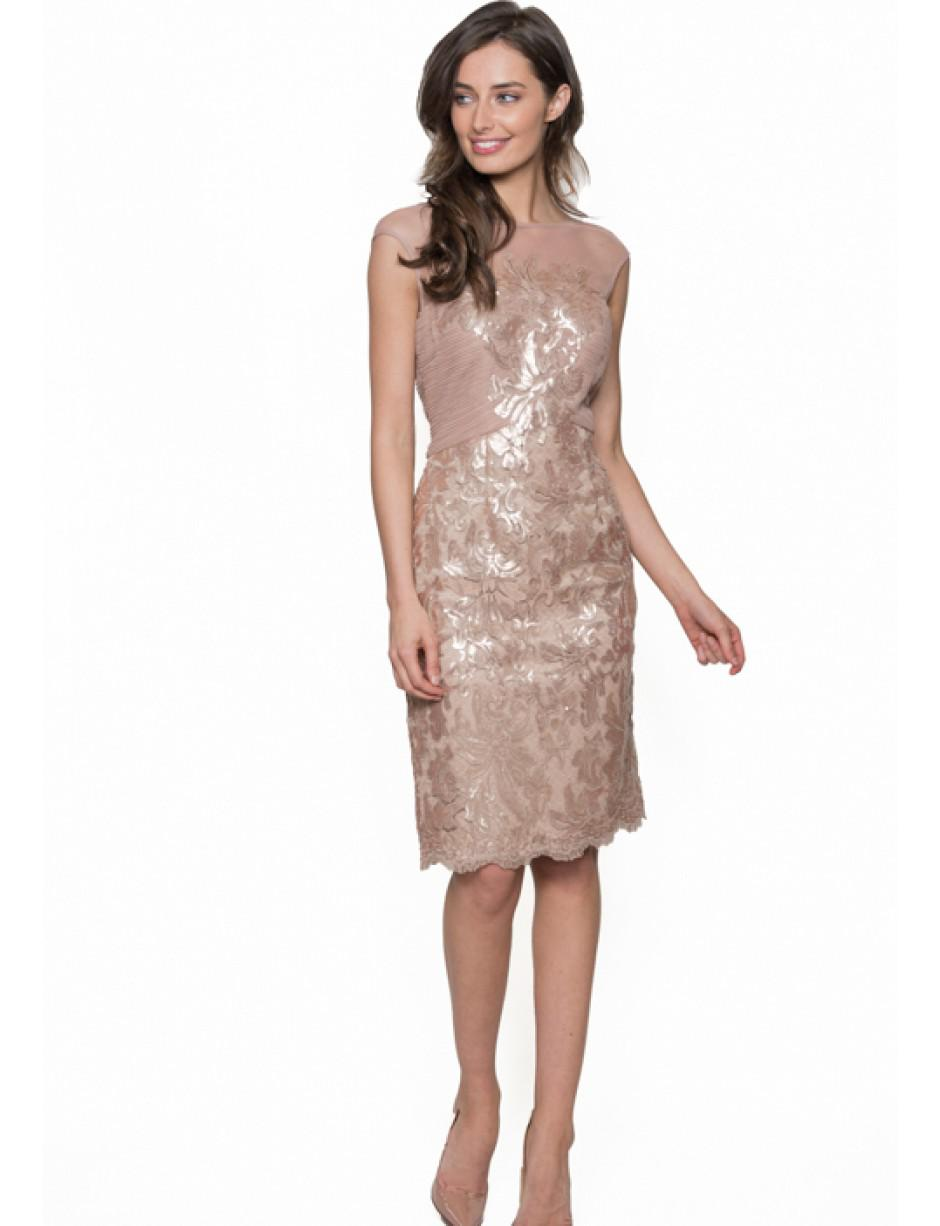 Bernshaw Champagne Pink Bridget Dress Lyst View Fullscreen