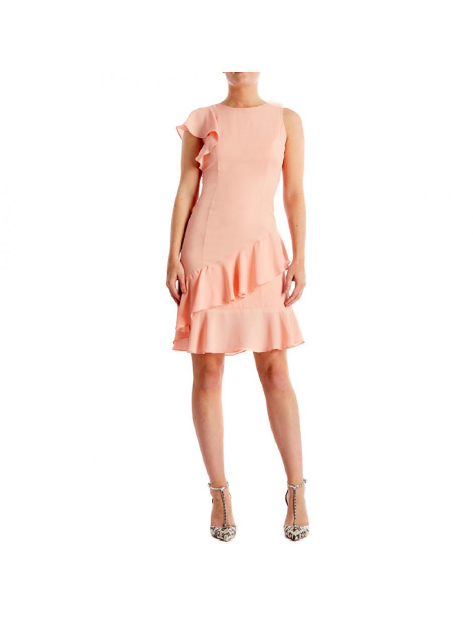 27fbd67281 Bourne Maggie Dress Nude in Pink - Lyst