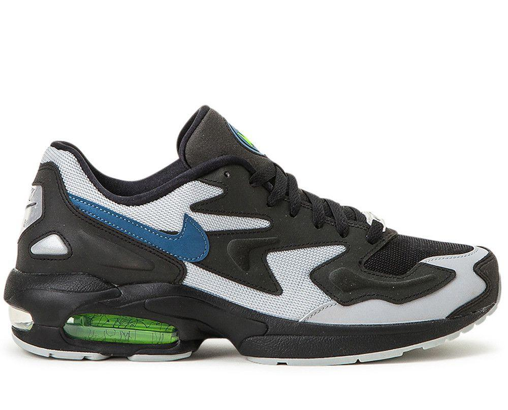 Nike Synthetic Air Max 2 Light in Black/Grey (Black) for Men ...