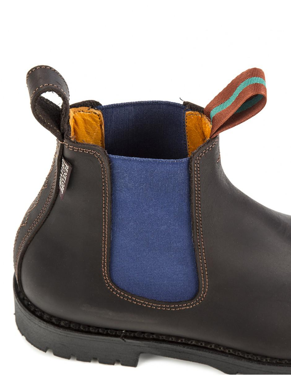 f82ec46eb86 Penelope Chilvers Women s Nelson Contrast Leather Chelsea Boots in ...