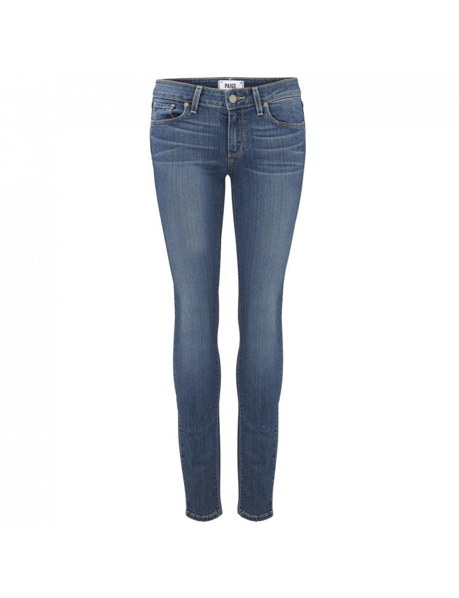 PAIGE Denim Verdugo Ultra Skinny Transcend Jeans in Blue