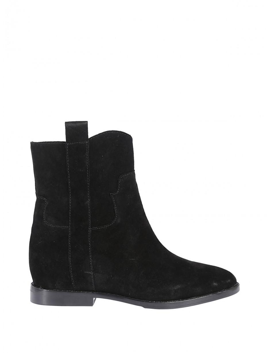 Ash Leather Jane Black Boot