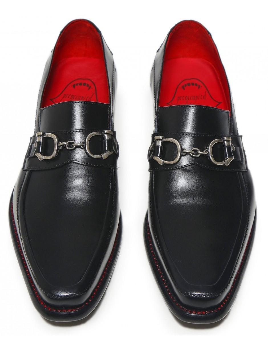 8cfb118e71c9 Lyst - Jeffery West Leather Villian Melly Snaffle Loafers in Black for Men
