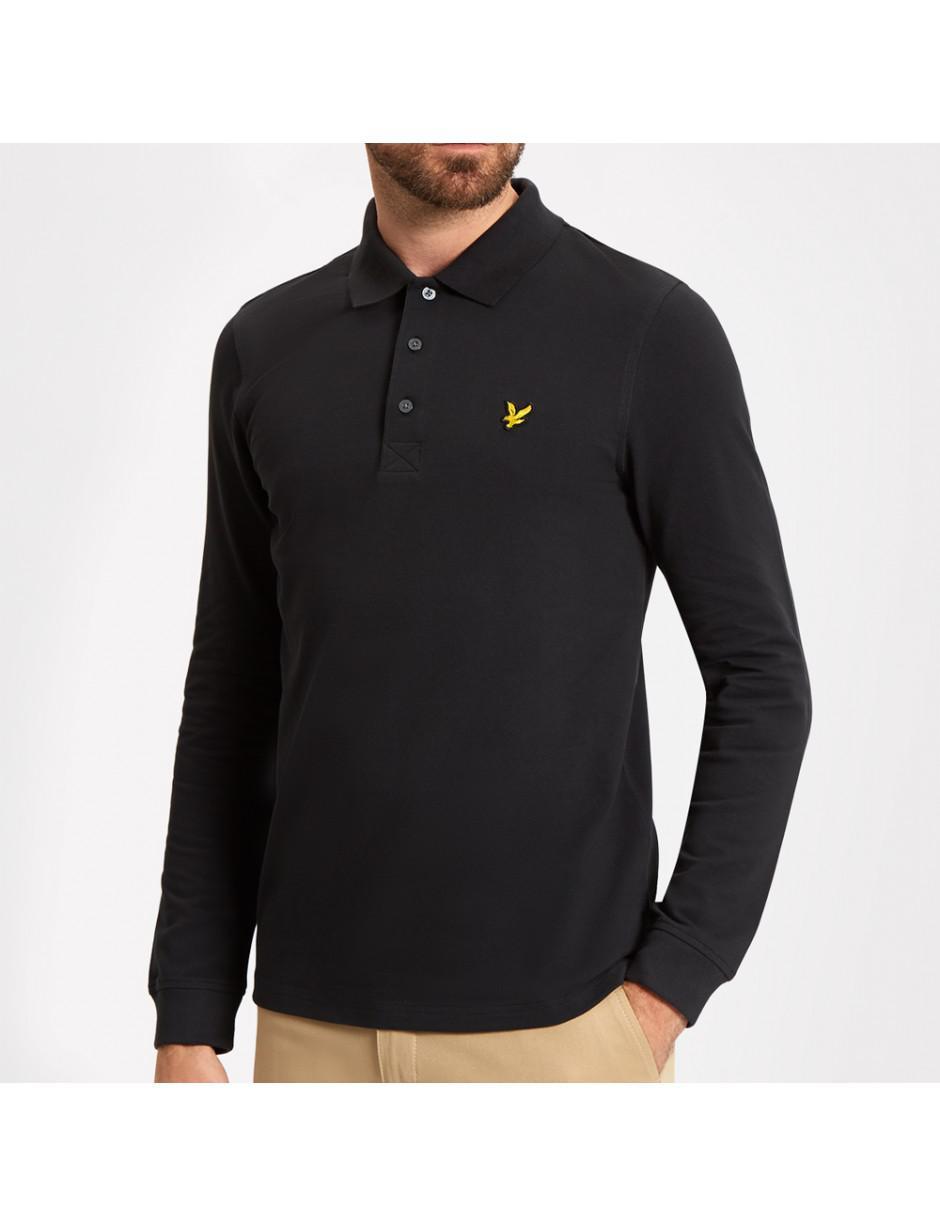 099b993f33e Lyst - Lyle   Scott Lyle And Scott Ls Polo Shirt in Black for Men