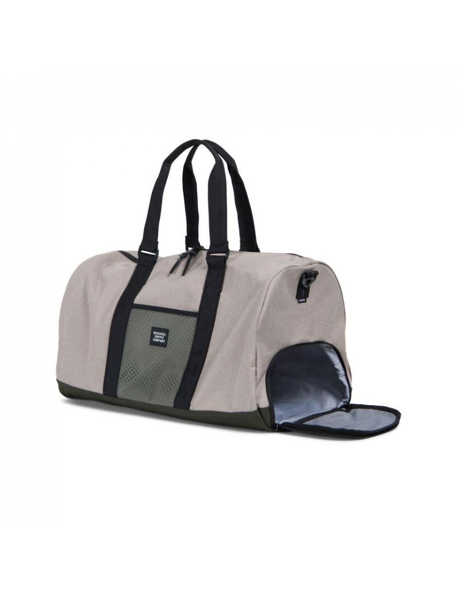 ed3ee0262c8a Lyst - Herschel Supply Co. Novel Duffle Bag in Black for Men