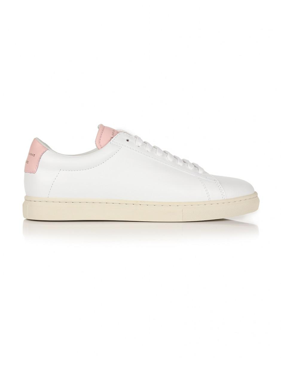 601d019a8ed664 Zespà Women's Zsp4 Nappa Leather Trainers in White - Lyst