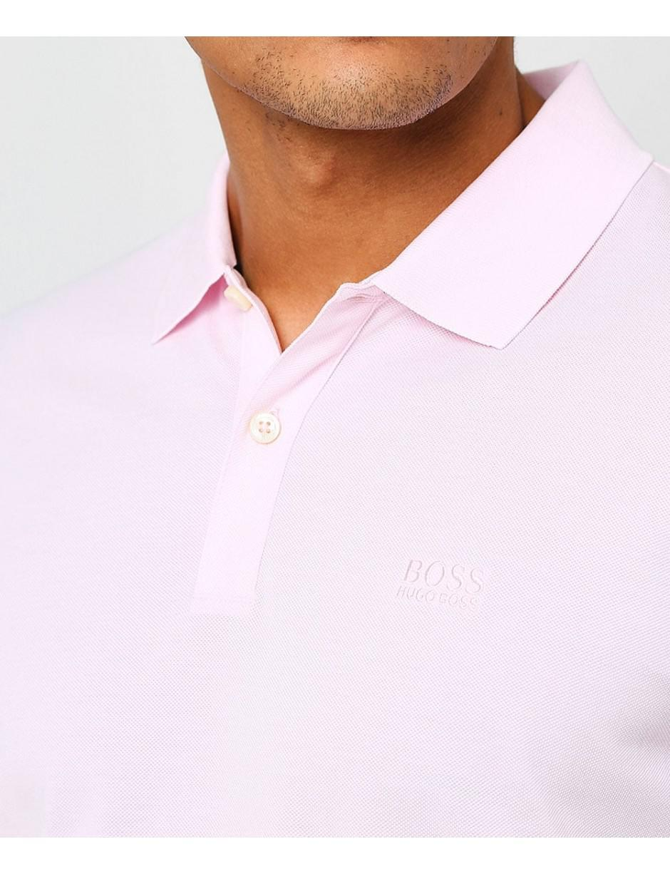 071ee4b6 Lyst - BOSS Regular Fit Pima Cotton Pallas Polo Shirt in Pink for Men