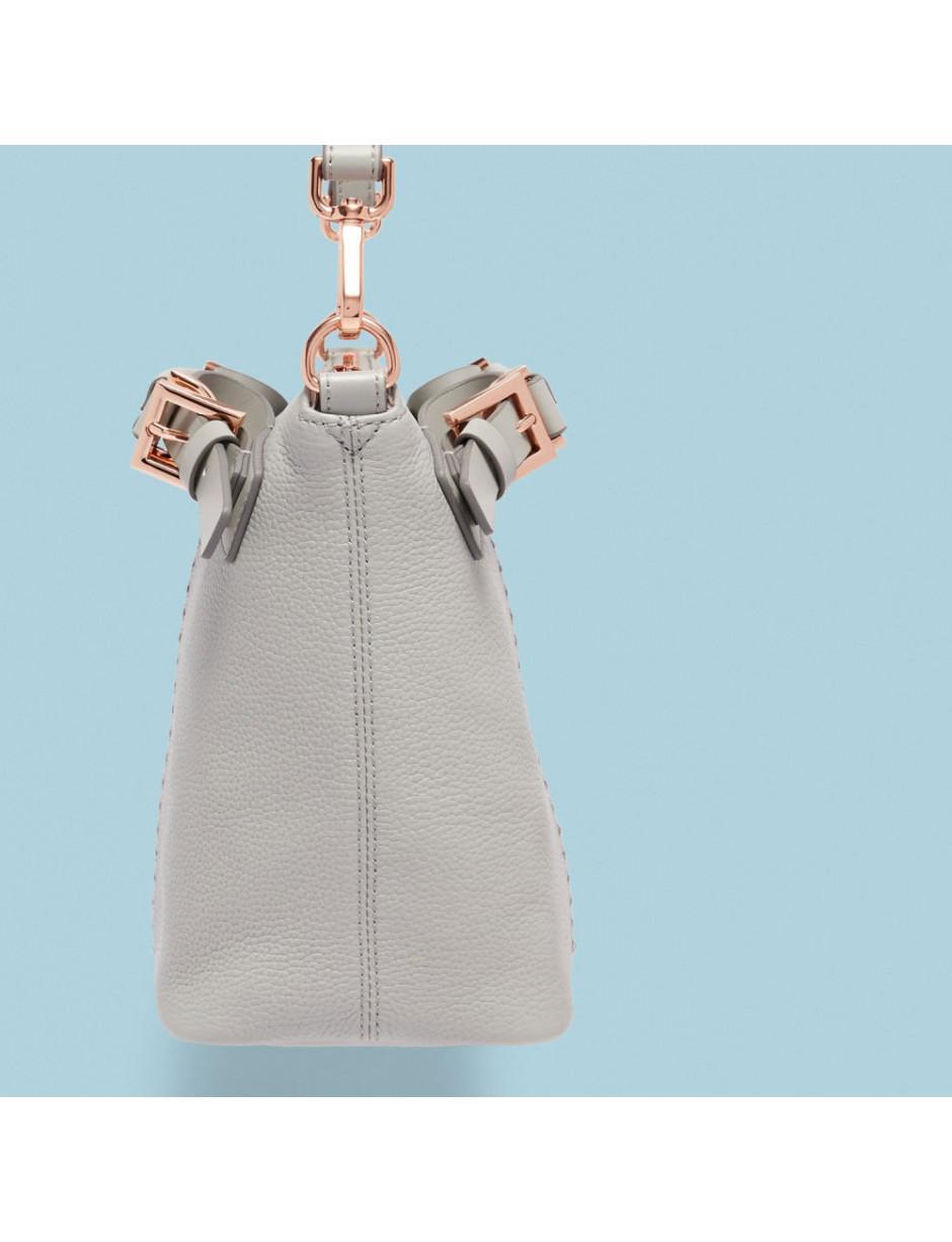 Ted Baker Leather Salbett Tote Bag in Grey (Grey)