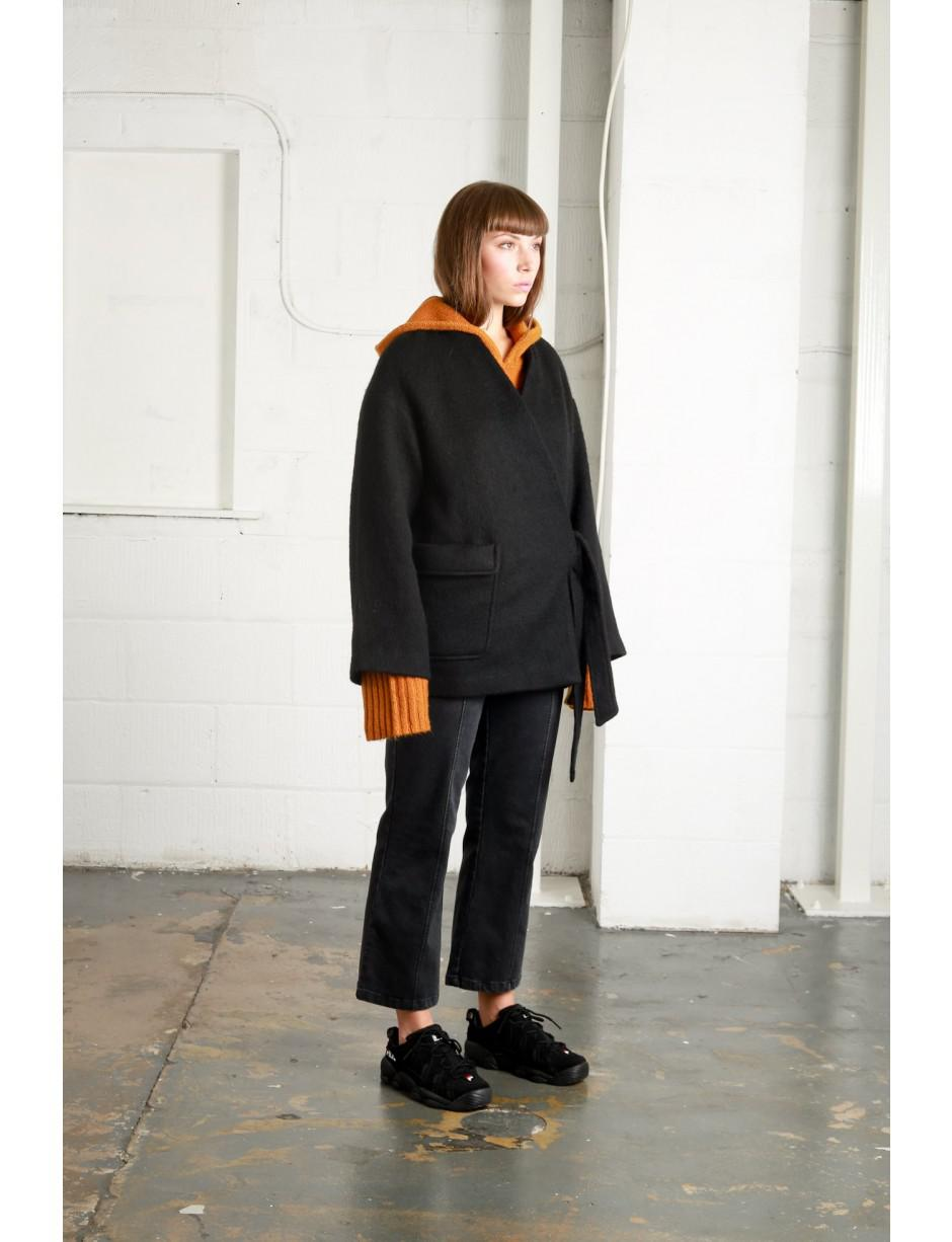 f1fac61674cc Lyst - Native Youth Keko Kimono Jacket in Black - Save 50%