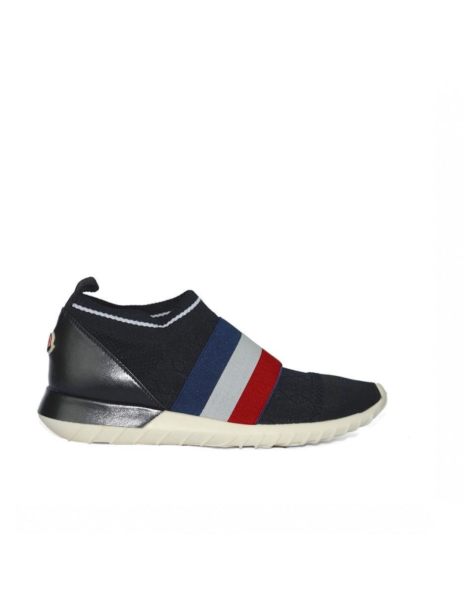 Moncler Trainers In Black for Men
