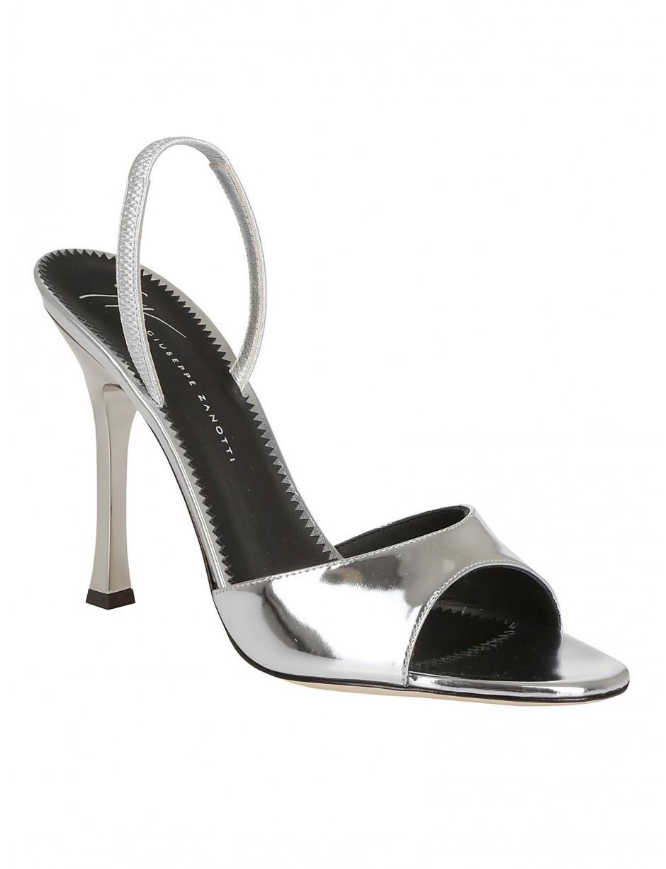 34287dd1825 Giuseppe Zanotti Heels In Silver in Metallic - Lyst