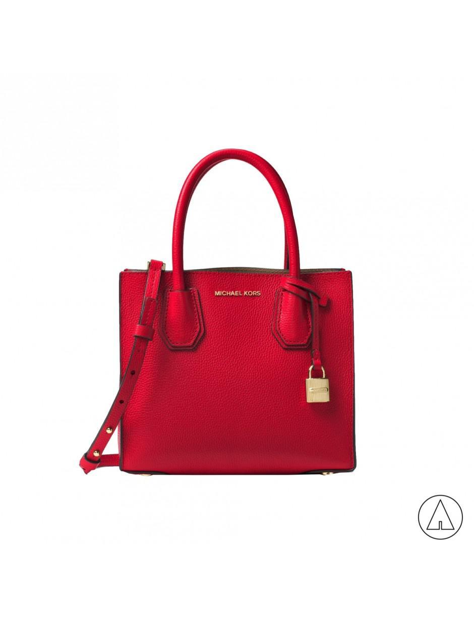 2ad5374e6098 Lyst - Michael Michael Kors Michael Kors Shoulder Bag In Red in Red
