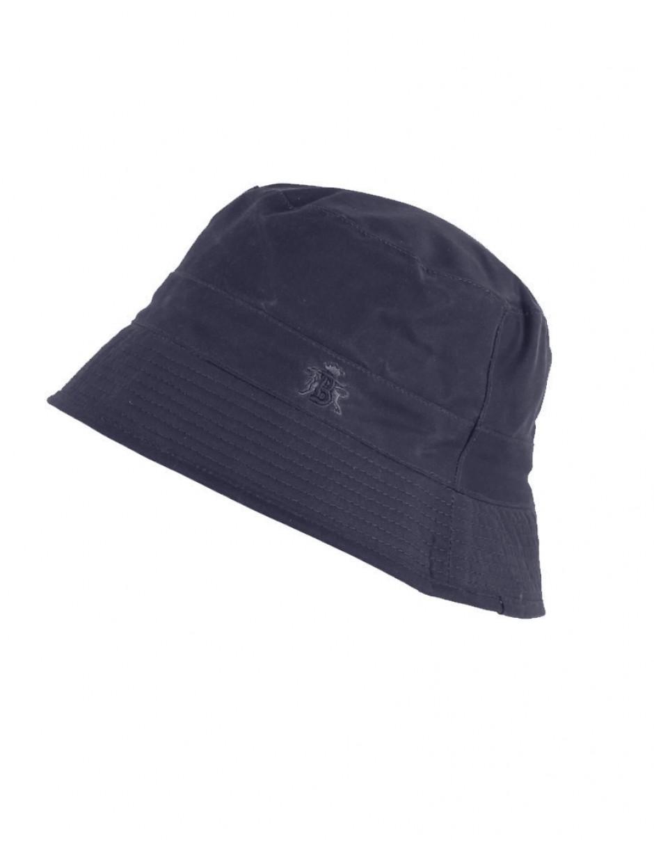 673020723ce Lyst - Baracuta Men s Made In England Oilskin Wax Bucket Hat in Blue for Men