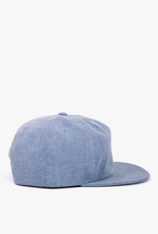 87d49f59917 Stussy Washed Oxford Canvas Hat in Blue for Men - Lyst